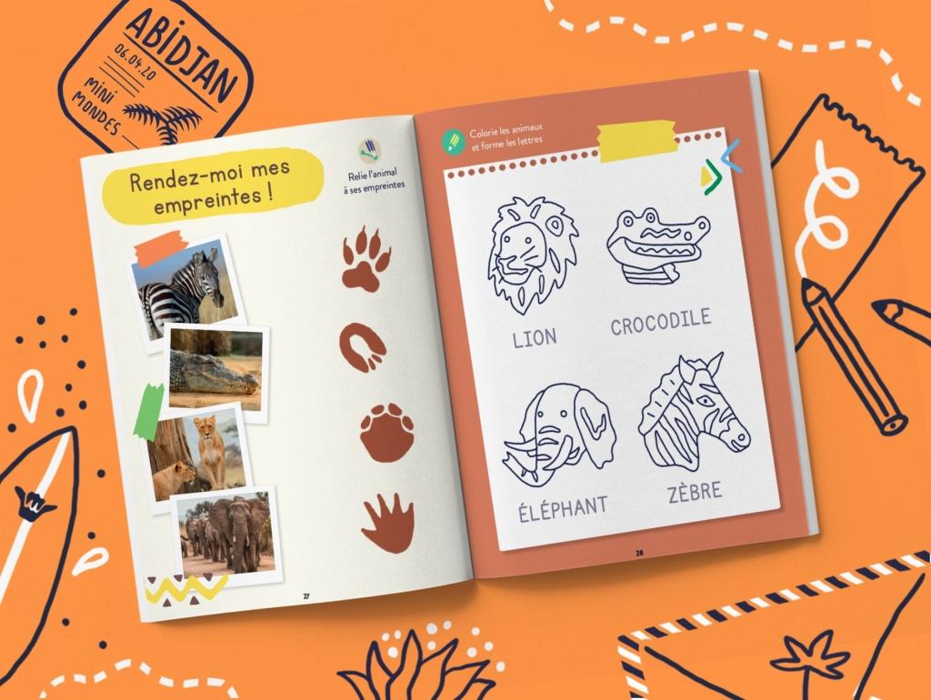 Le magazine jeunesse pour enfants sur la Côte d'Ivoire 5 ans