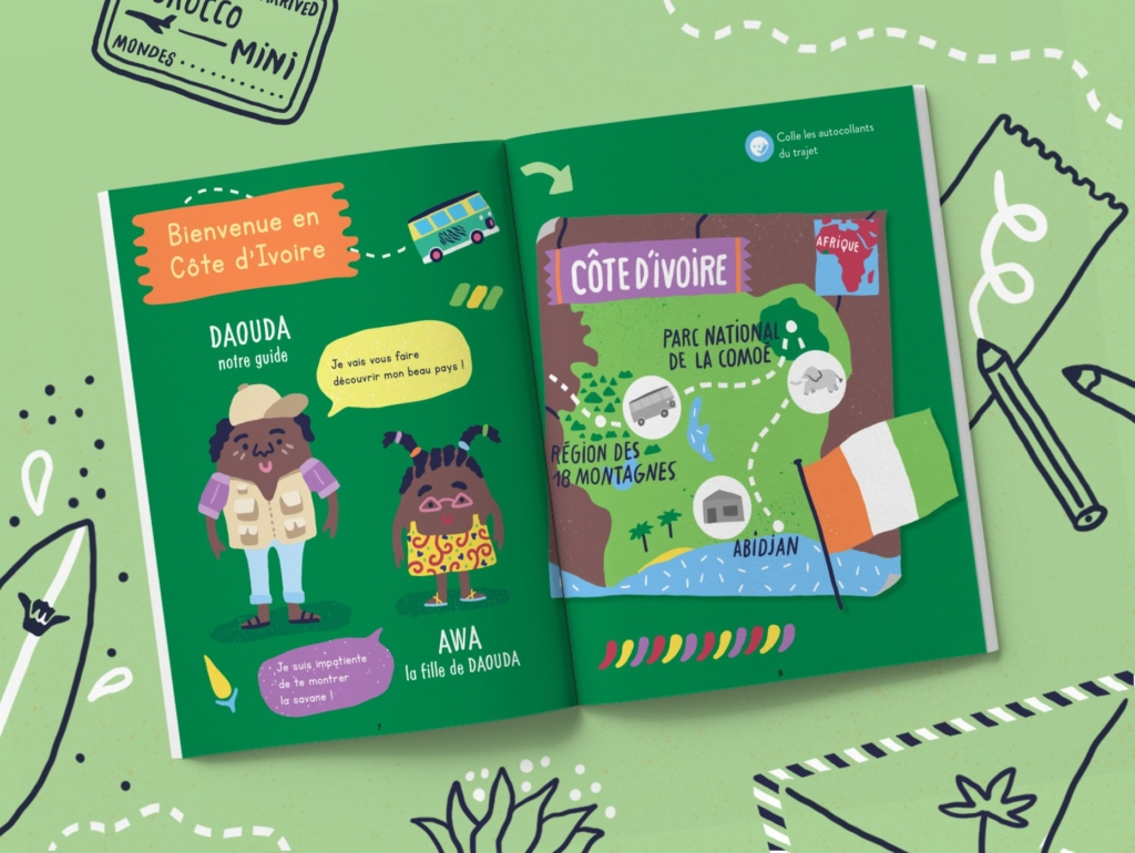 Magazine enfant 3 ans Côte d'Ivoire