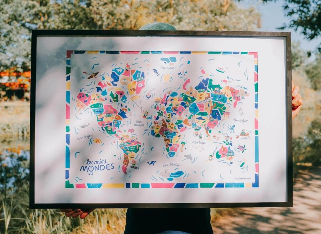 map monde enfants