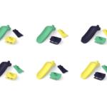 Le pack glisse : des accessoires pour nos jouets écologiques - van, bateau et figurines