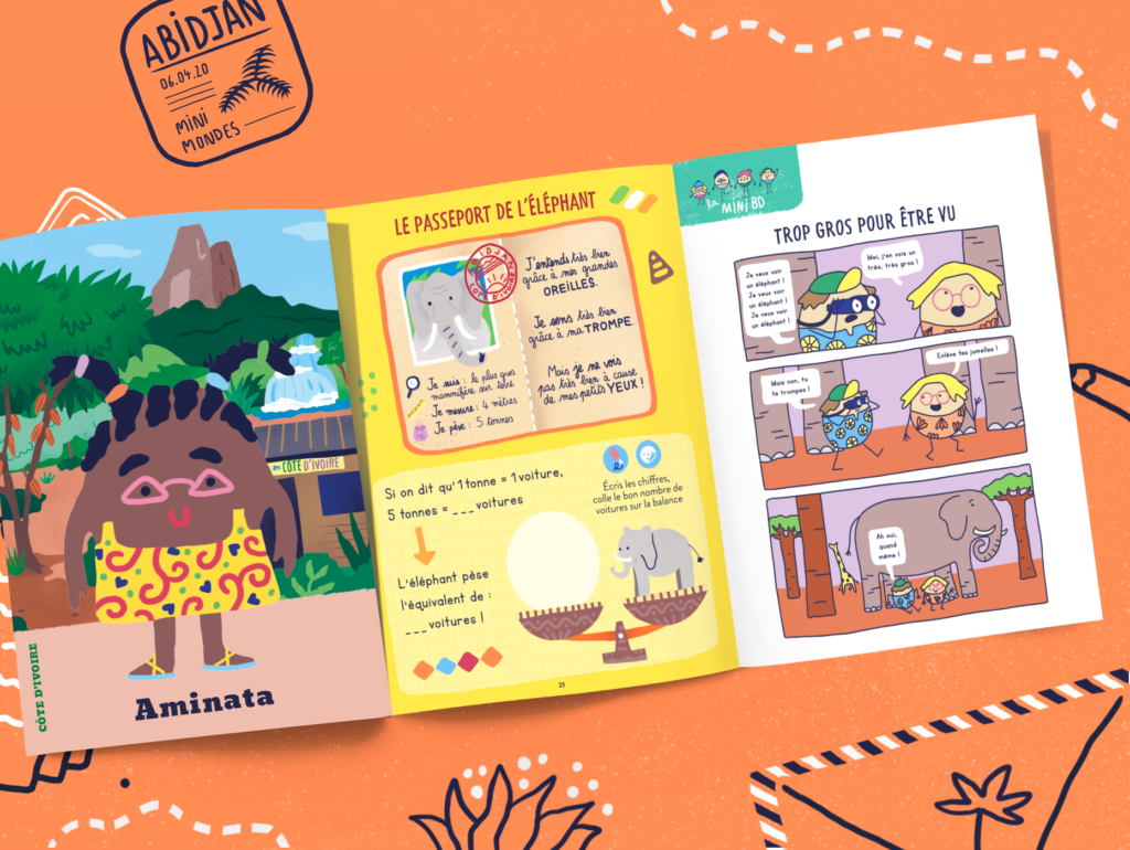 Le magazine jeunesse des 2 à 7 ans - La Côte d'Ivoire