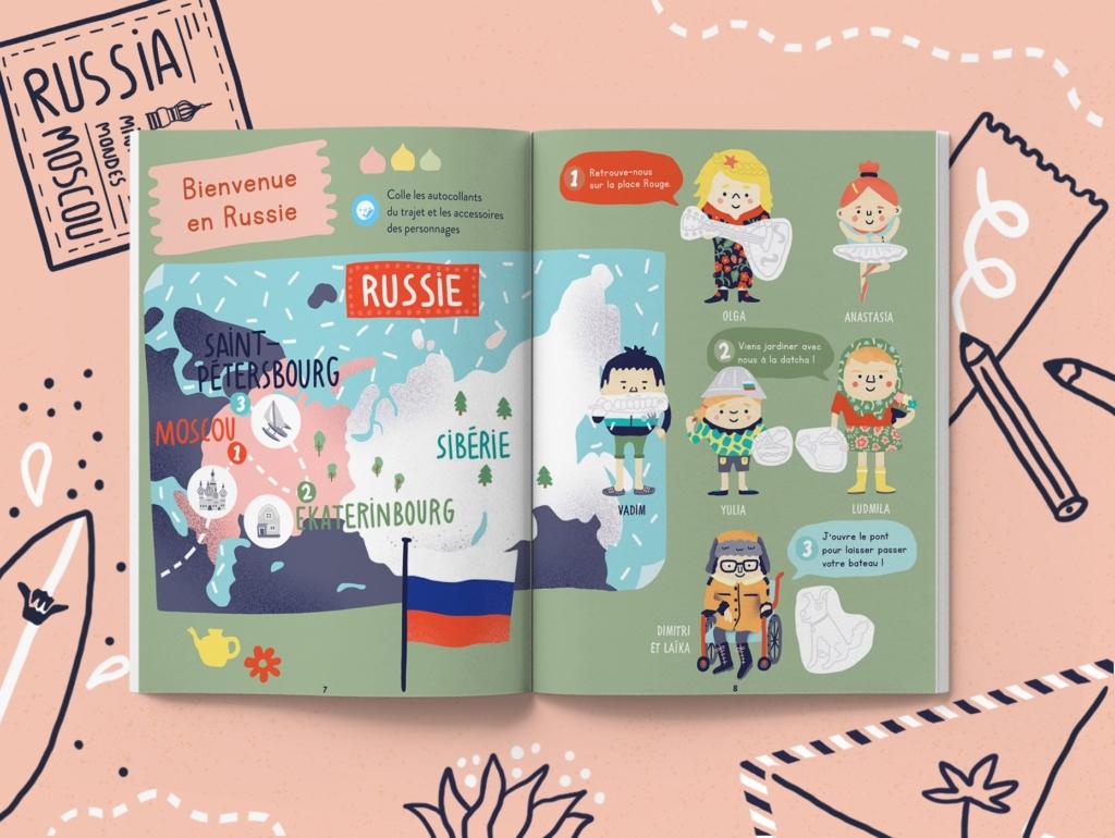 Le magazine jeunesse 3 ans sur la Russie