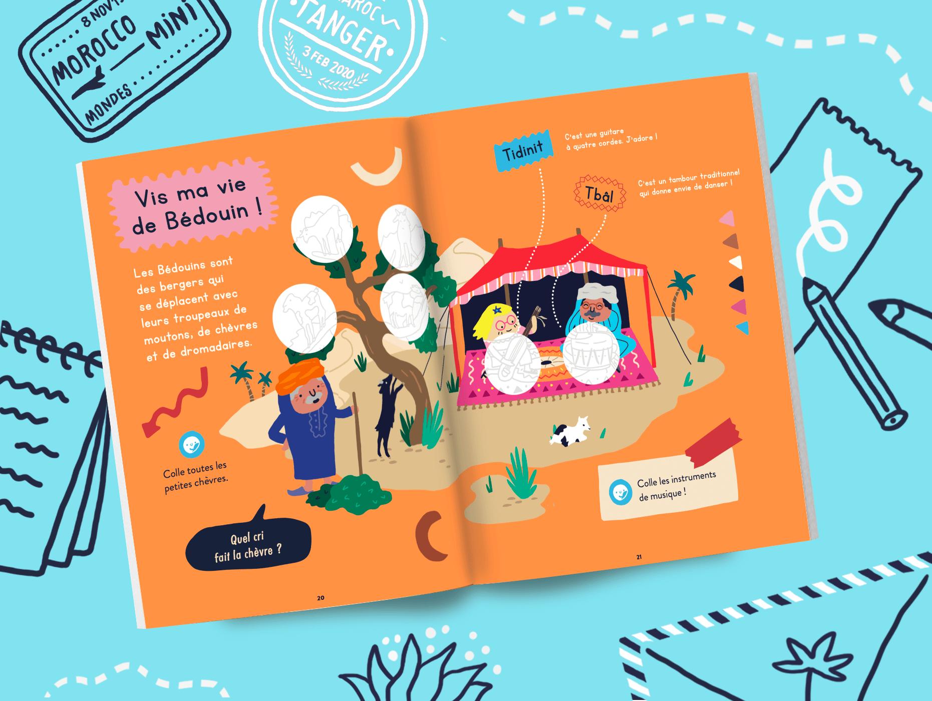 Magazine enfant 2 ans Maroc