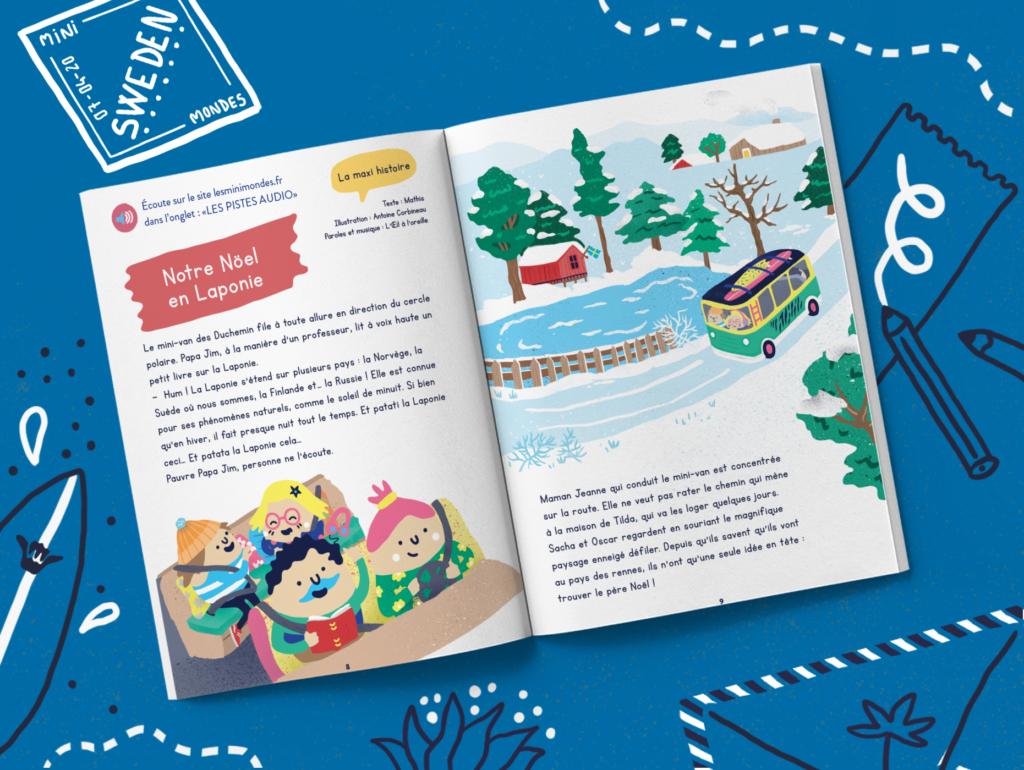 Magazine pour enfants dès 3 ans Suède