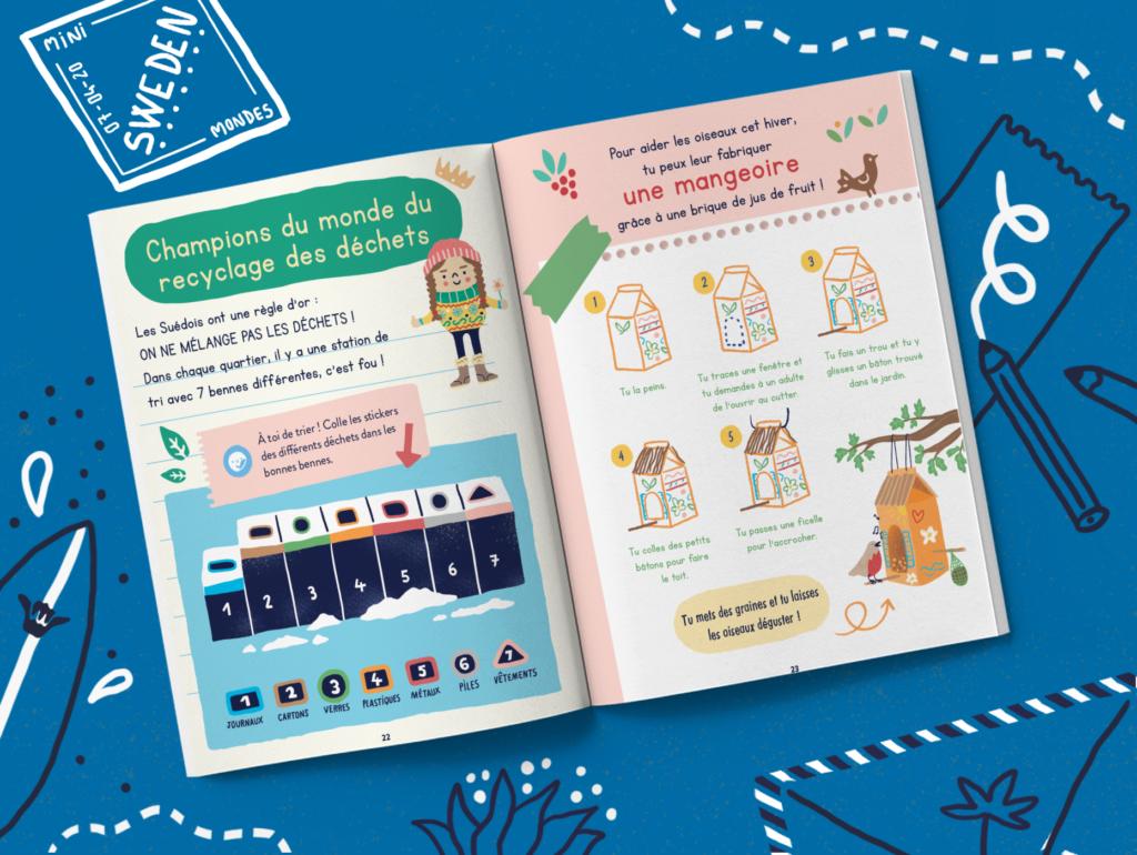Magazine pour enfants dès 4 ans Suède