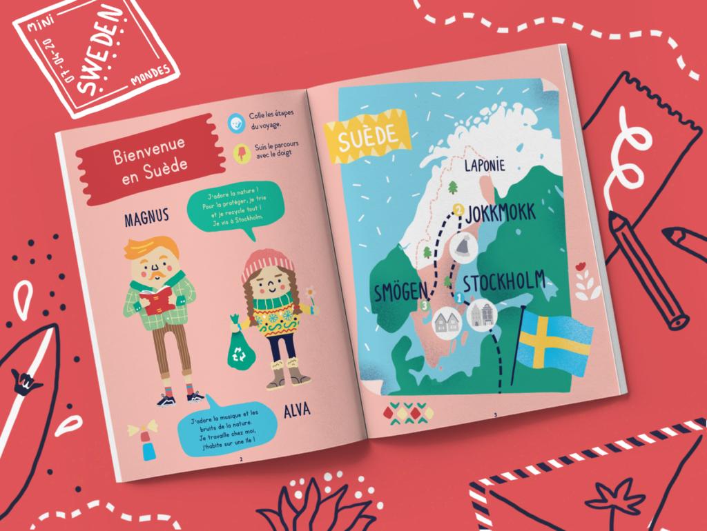 Magazine pour enfant Suède