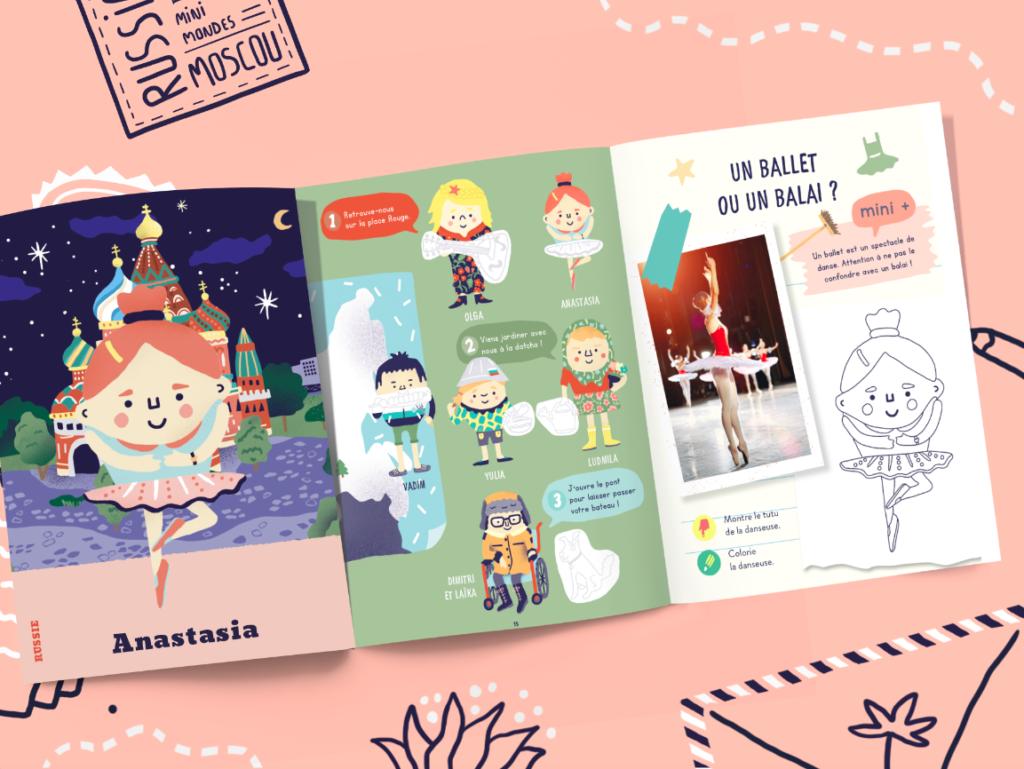 Un magazine jeunesse sur la Russie pour les enfants dès 4 ans