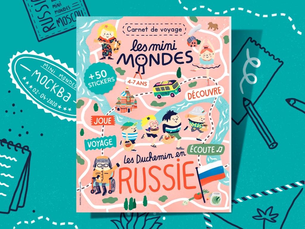 Le magazine pour les enfants dès 4 ans sur la Russie
