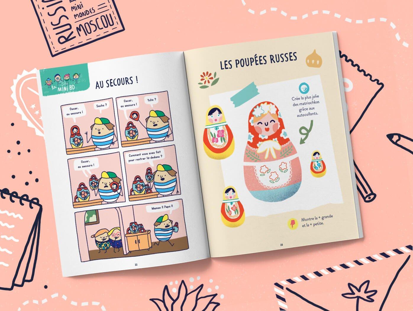Magazine enfant 2 ans Russie