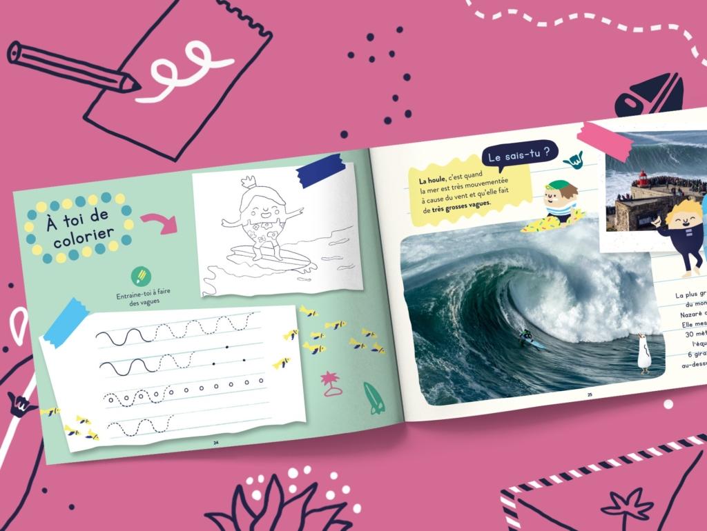 Le livre pour les enfants de 2 à 7 ans qui veulent découvrir les mers et océans
