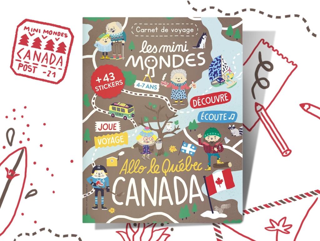 Magazine enfants Canada dès 4 ans