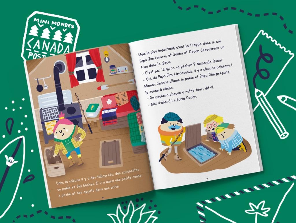 Magazine enfants Canada dès 5 ans
