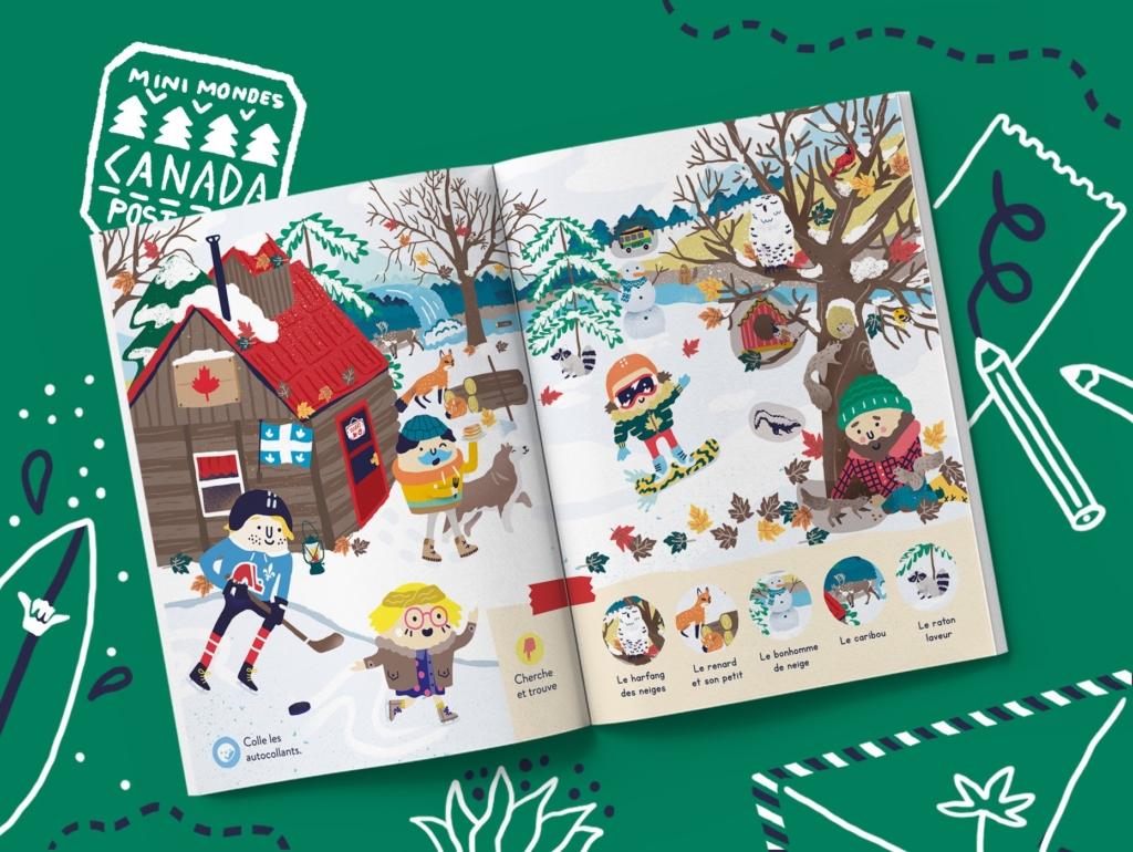 Magazine enfants Canada dès 3 ans