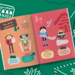 Magazine enfant sur le Canada