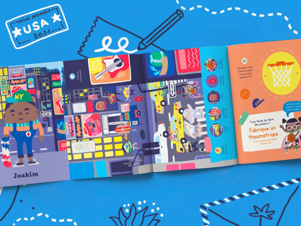 Un magazine éducatif pour enfant sur les Etats-Unis