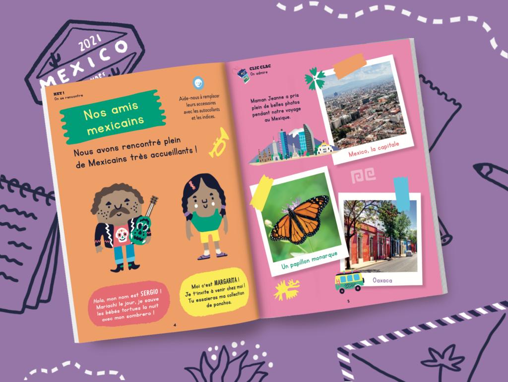 Faites découvrir le Mexique à votre enfant avec notre magazine jeunesse