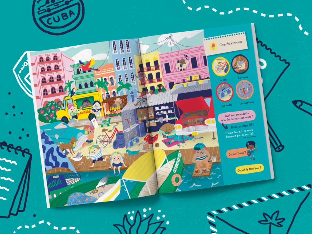 Le magazine pour les enfants de 4 à 7 ans
