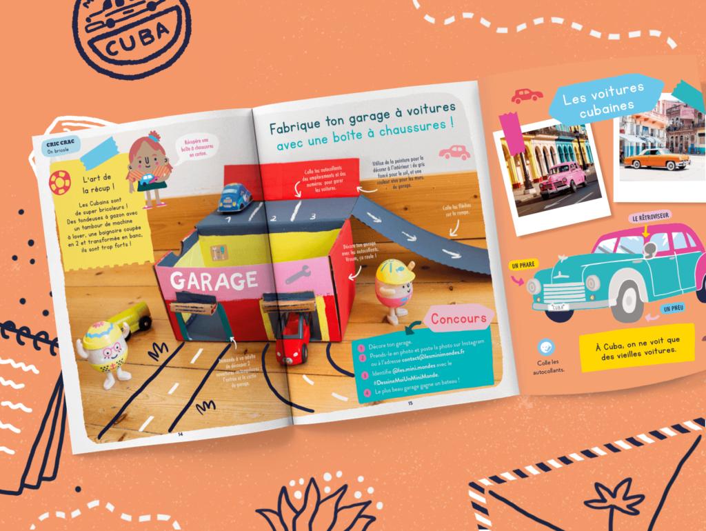 Magazine jeunesse enfant des 2-3 ans