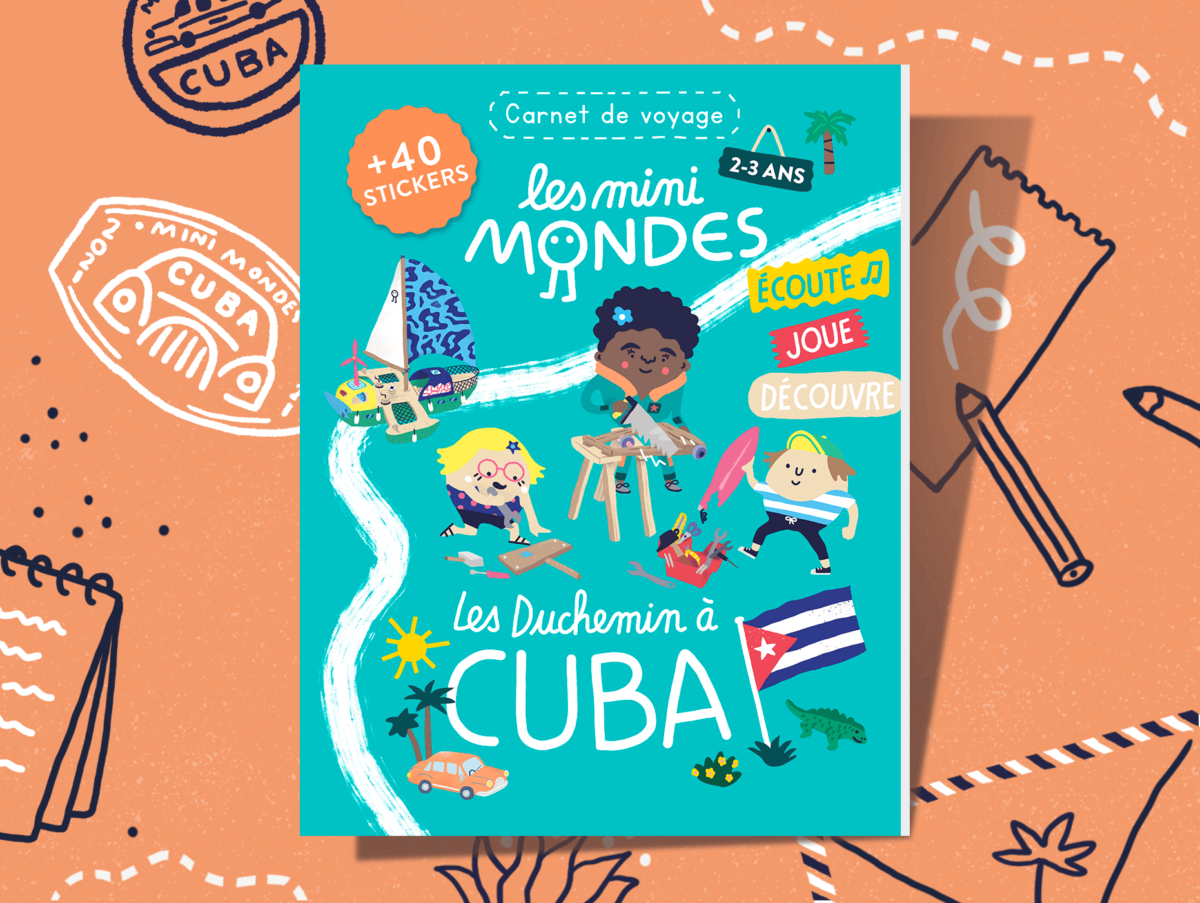 L'abonnement au carnet de voyage dès 2 ans - Cuba