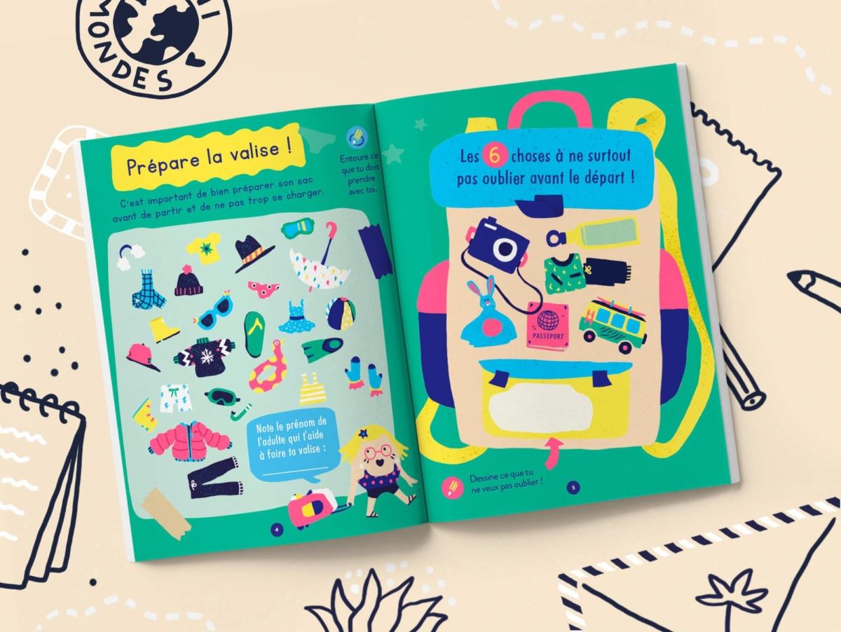 Un carnet parfait pour les enfants de 4 à 7 ans