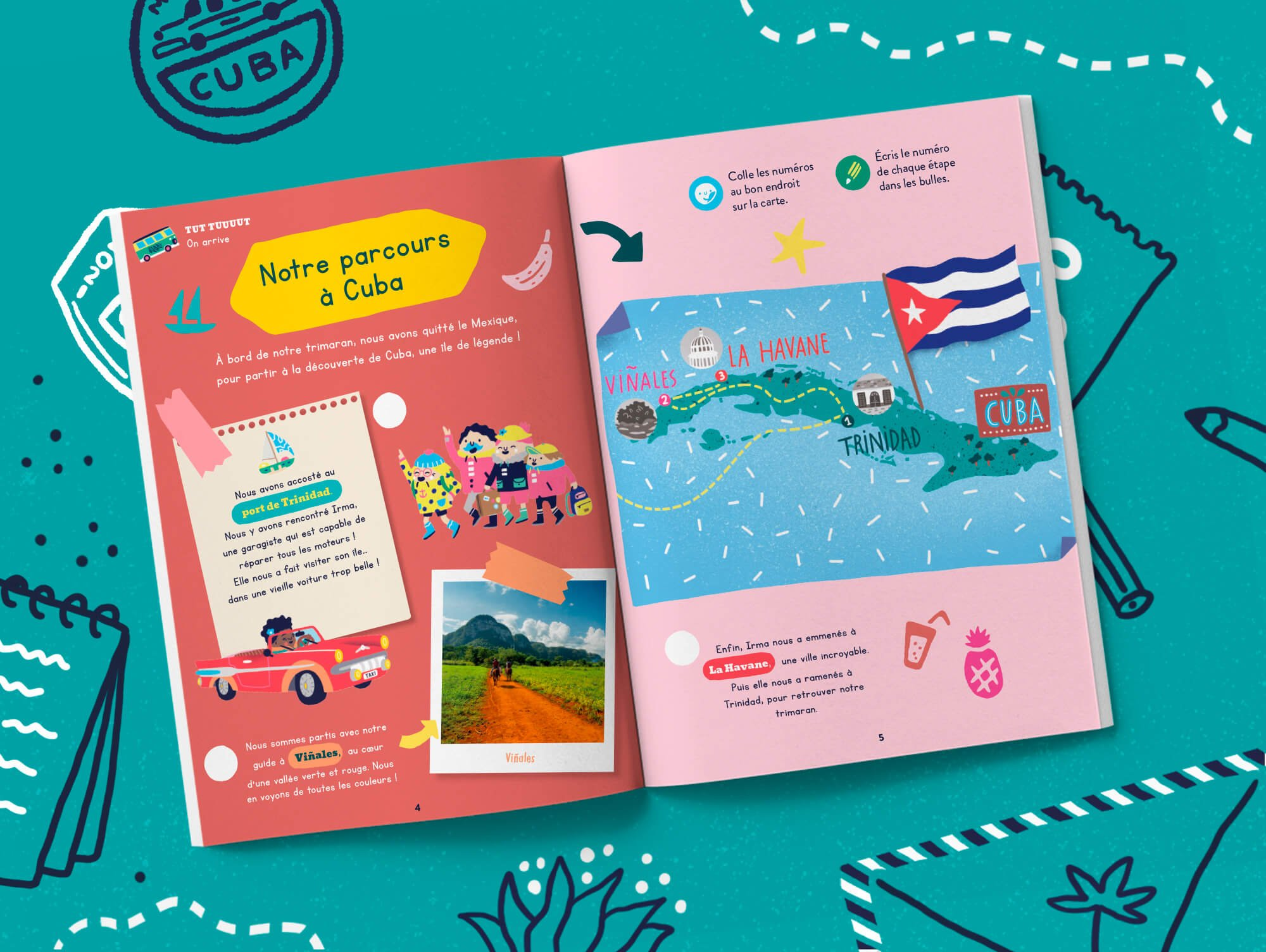 Notre magazine enfant sur Cuba