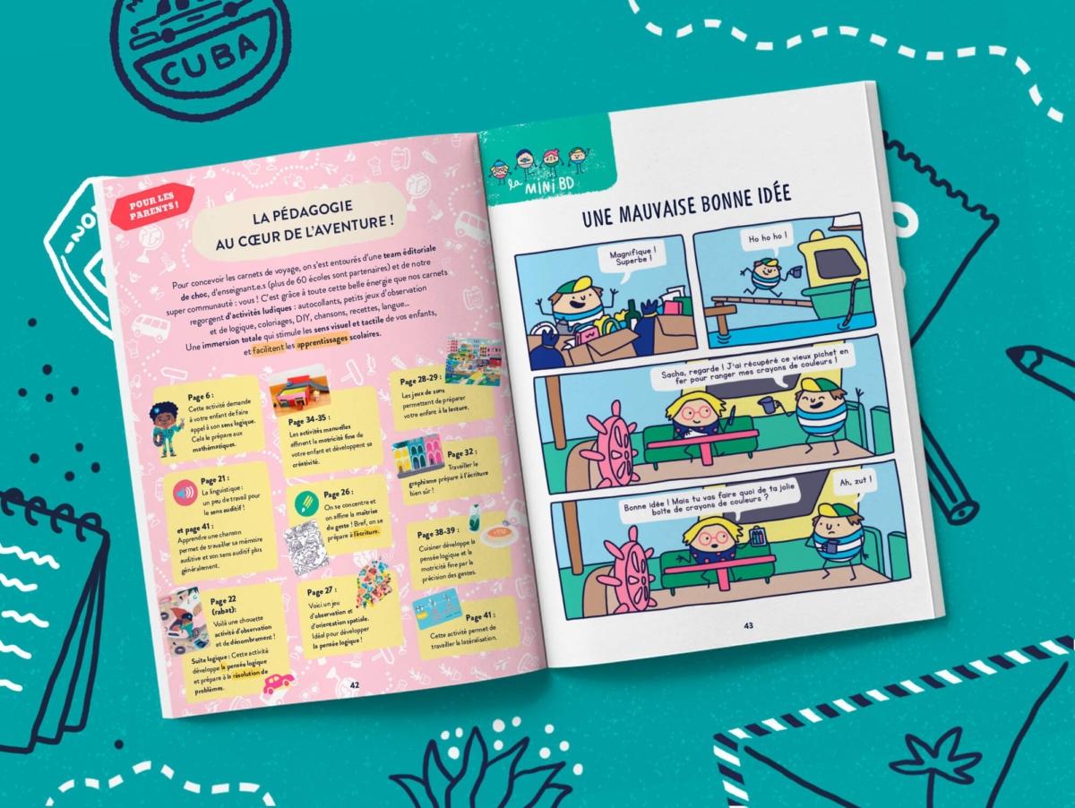 Le magazine qui fait découvrir le monde aux enfants