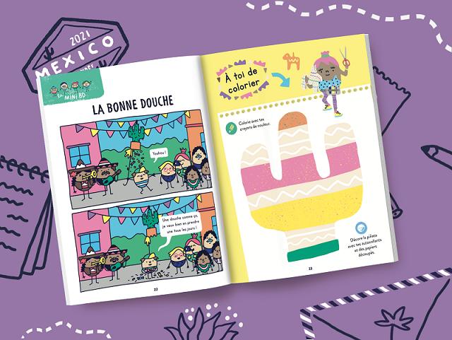 Magazine enfant 2 ans Mexique