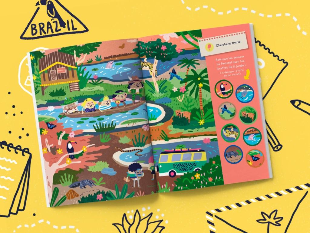 Abonnement magazine enfant 4-7 ans