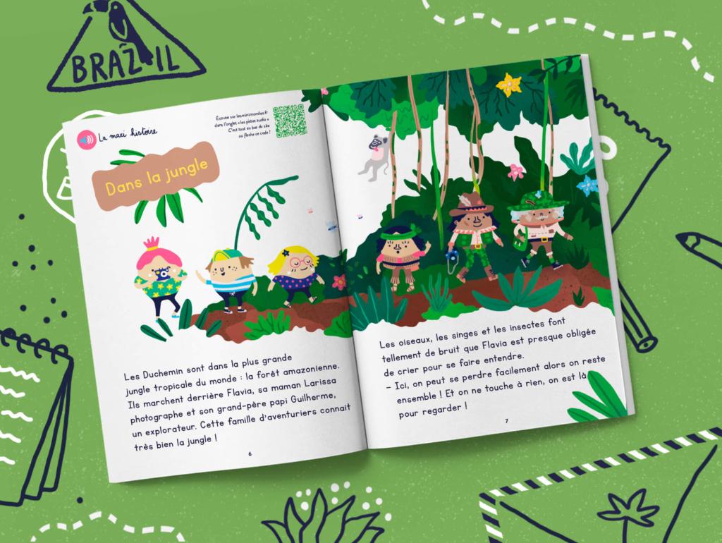 L'abonnement au magazine pour les enfants dès 2 ans