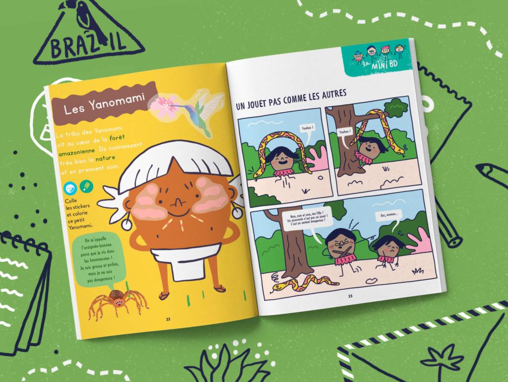 L'abonnement au magazine pour les enfants de 2-3 ans