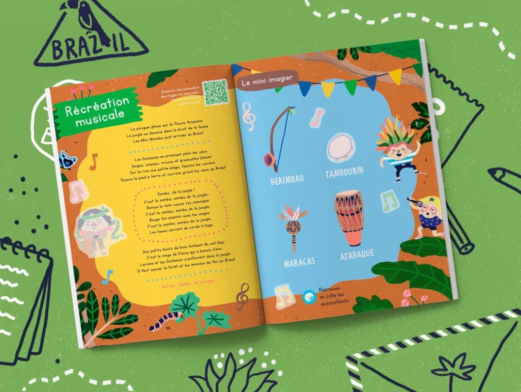 L'abonnement magazine enfant 3 ans