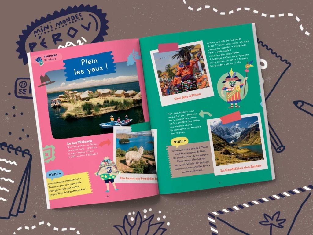 Abonnements magazines jeunesse - Pérou