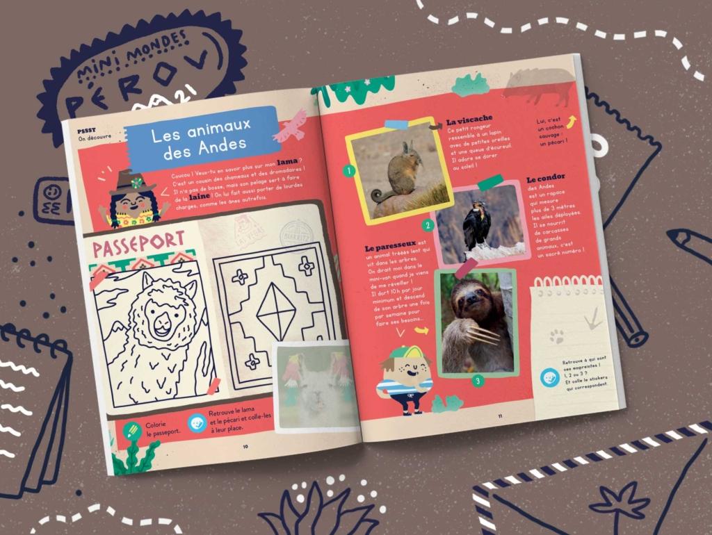 Abonnement magazine enfant - Pérou