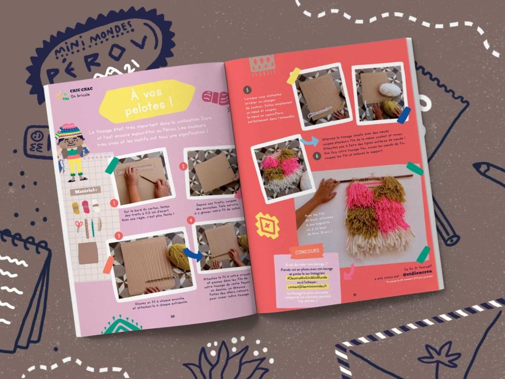 Abonnement magazine jeunesse - Pérou