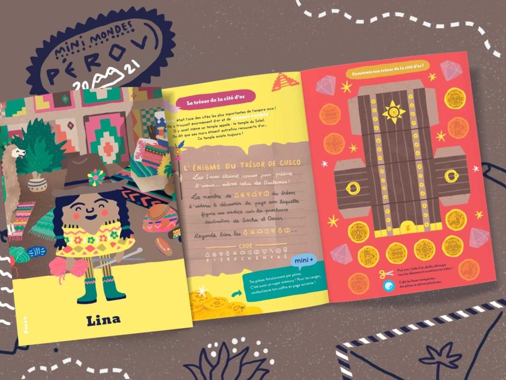 Abonnement magazine enfant 4 ans - Pérou