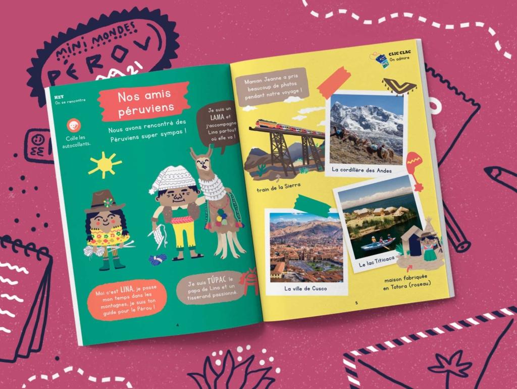 Abonnement magazine enfants 4 ans - Pérou