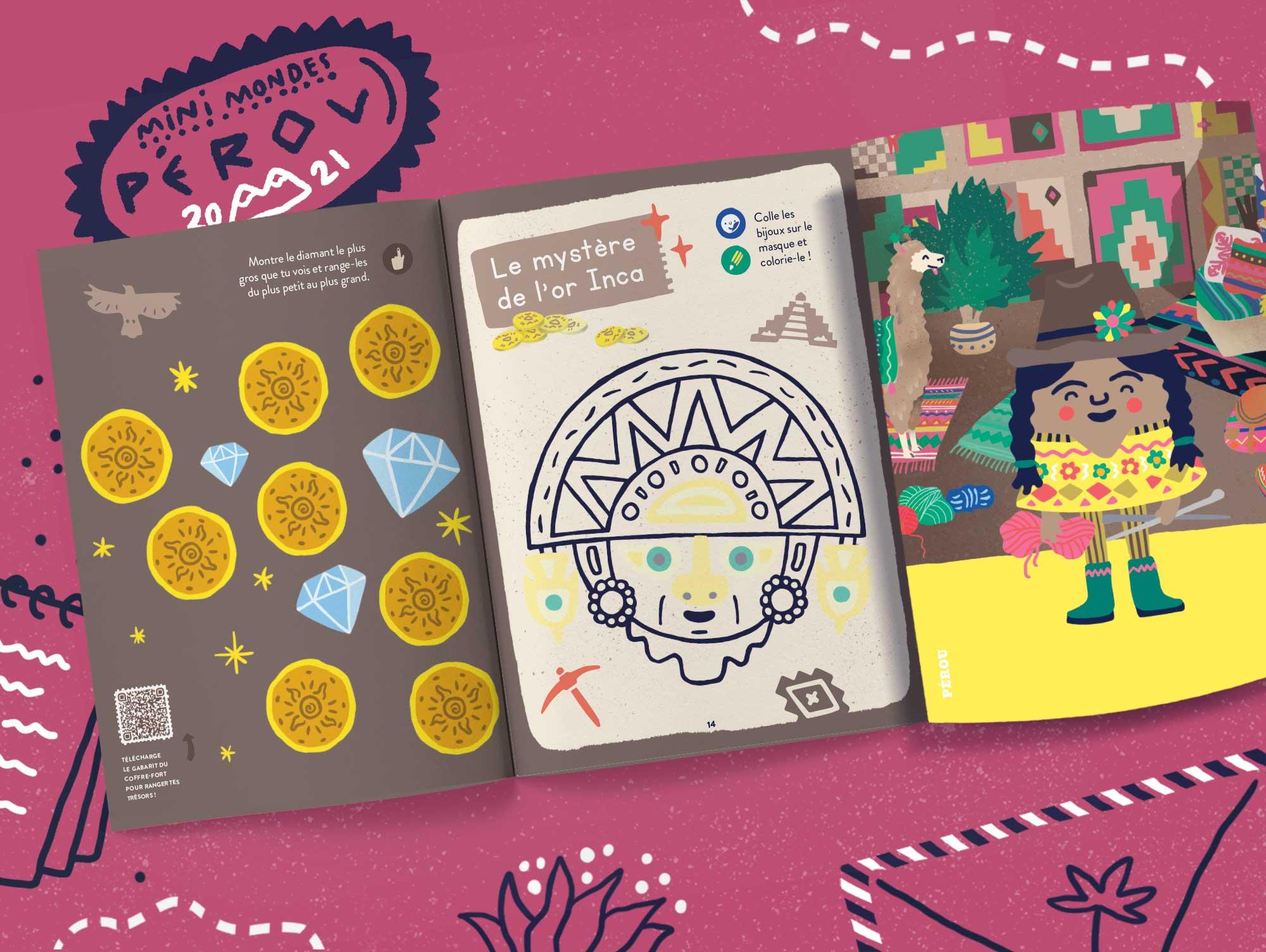 Abonnement magazine enfants 3 ans - Pérou